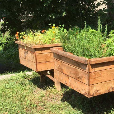 La Maison Verte | Jardinières