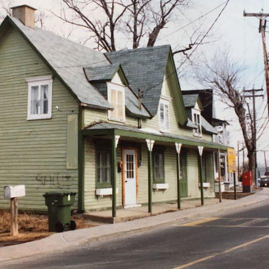 La Maison Verte | Histoire de la maison