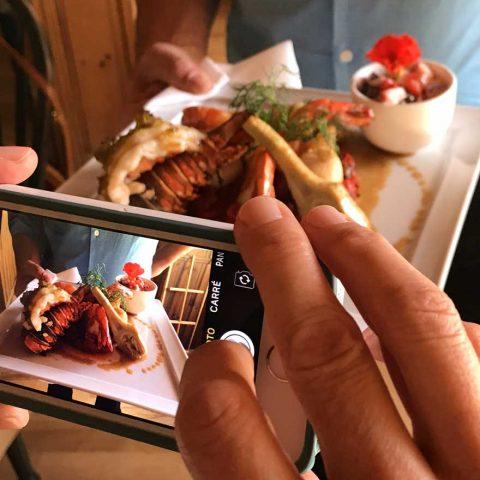 La Maison Verte |  Plate of Seafood